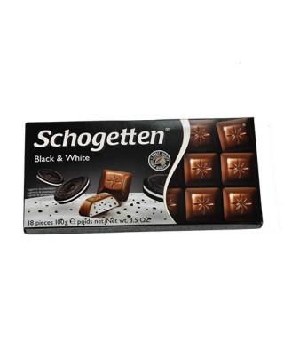 Schogetten Black & White 100g