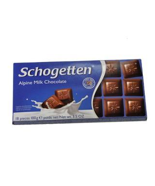 Schogetten Alpenmilch-Schokolade 100g