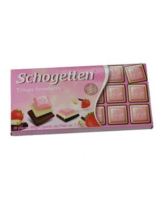 Schogetten Trilogia Erdbeer 100g