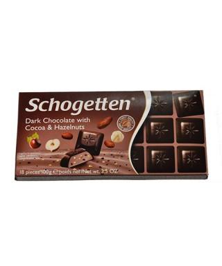 Schogetten dunkle Schokolade mit Kakao & Haselnuss 100g